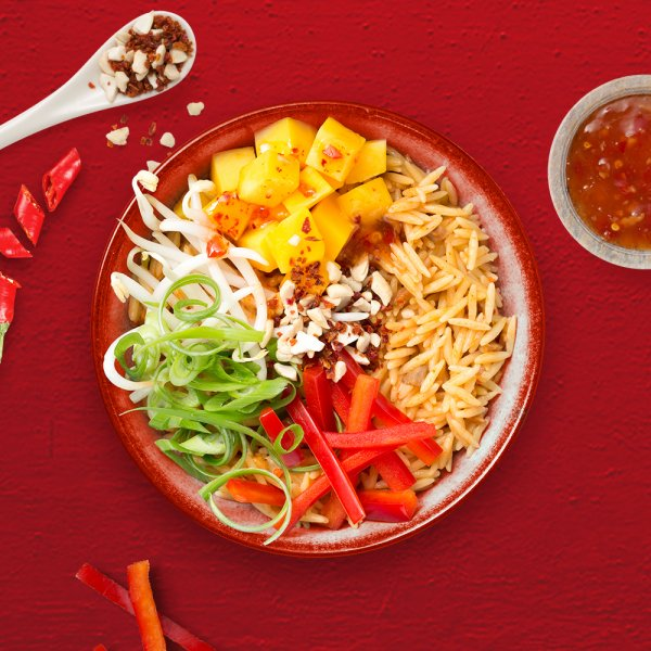 Rezept Happy Bowl Asia Sweet Chili Style