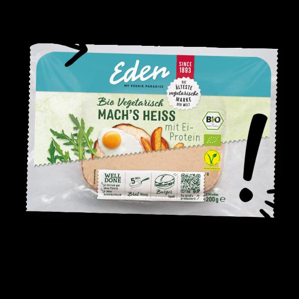 Eden Mach's Heiss Vegetarischer Leberkäse